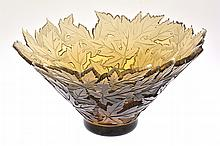 Pilgrim Cameo Glass Bowl,