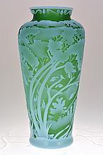 Fenton Cameo Vase,