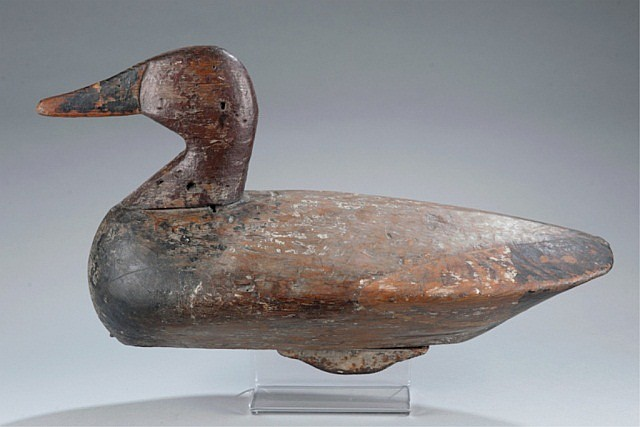 Ned Burgess Battery Duck Decoy