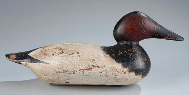 Mason Canvas Back Standard Grade Duck Decoy