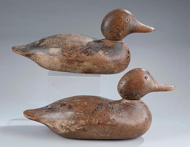 Pair of Mason Standard Grade Duck Decoys