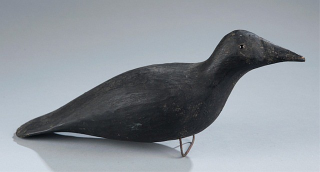 Primitive Folk Art Crow Decoy