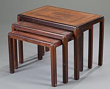 Vejle Stole Mobelfabrik Rosewood Nesting Tables