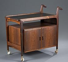 Falster Rosewood Bar Cart