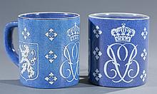 Pair of Royal Copenhagen Mugs