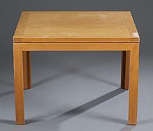 Soborg Teak Square Occasional Table