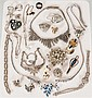 Mixed Lot of Sterling Silver and Silver Costume Jewelry