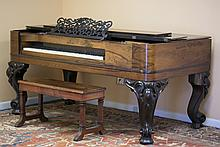 Steinway & Sons Square Grand Piano with Bench