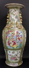 19TH, A LARGE CHINESE ROSE FAMILLE PORCELAIN PORCELAIN