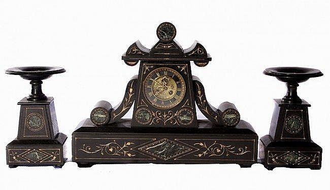 26: Marble Clock Set