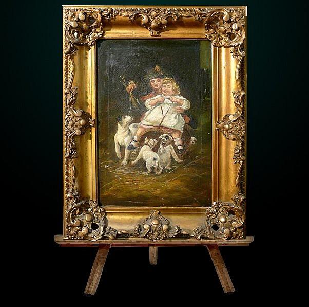 6: 19th Century Oil on Canvas