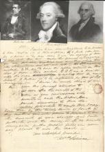 Historic Letters, Documents, Autographs 18th - 20th Centuries
