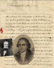[Declaration of Independence] William Ellery Receives Details of Land Dispute – the Deed of Benjamin Ellery, Irish Cause