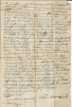1796 Sale Involves Henry Wray who Marched with George Washington