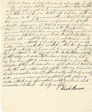 The Oath of Allegiance of Enoch Brown: Moves to Boston and Renounces the British Crown