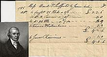 Capt. Samuel Ward, Supported Benedict Arnold, Signs 1785 Bill