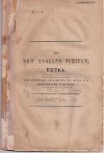 Lawfulness of Marrying Sister of Deceased Wife: New England Puritan