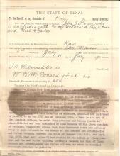 Texas Cowboy-Lawman Jackman, Mexican-War LT, Confederate, Fought Indians