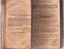 1797 Laws Include Penalties for Digging up Bodies, Bestiality, Treason
