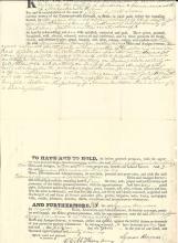 Ladder Day Saints Convert Hinman Sold Massachusetts Land Before Joining Mormons at Nauvoo -- Three Deeds