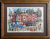 Susan Pear Meisel, Piazza d'Espagna and Castle, Lot of 2 Lithographs
