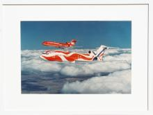 Alexander Calder Braniff Airplane, Color Photograph by Unknown Artist