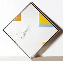 Budd Hopkins, Diamond Painting, Oil Painting