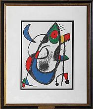 Joan Miro, Lithographs II (11), Lithograph