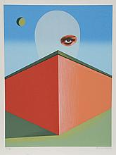 Clarence Holbrook Carter, The Watcher, Serigraph