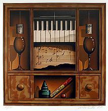 James Carter, Music Box (Piano), Serigraph
