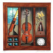 James Carter, Music Box (Violin), Serigraph