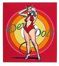 Mel Ramos, Devil Doll, Lithograph