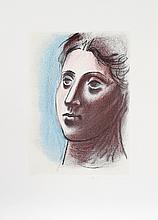 Pablo Picasso, Portrait de Femme a Trois Quart Gauche, Lithograph