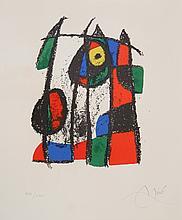 Joan Miro, Lithograph II (M. 1043), Lithograph