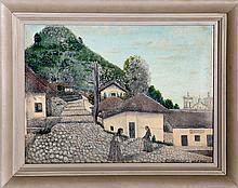 Jose Antonio Velasquez, San Antonio Oriente, Honduras, Oil Painting