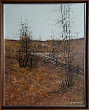 John Lewis Egenstafer, Landscape, Oil Painting