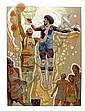 Allan Mardon, NBA Basketball, Lithograph
