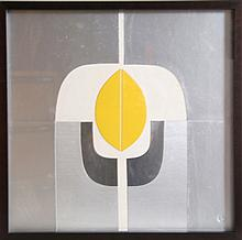 Amadeo Gabino, Minimalist Geometric Collage Multiple