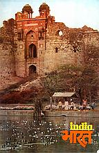 Jehangir Gazdar, India - Old Fort, Delhi, Poster