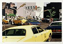 Ron Kleemann, Gas Line from the City Scapes Portfolio, Silkscreen