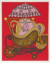 William Copley, Baby Carriage, Serigraph