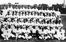 1962 Mets Baseball Team Picture, Photograph