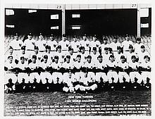 New York Yankees 1951 Baseball World Champions, Photograph