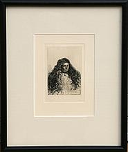Rembrandt van Rijn, The Jewish Bride, Fig B 341, Etching