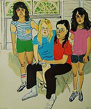 Alice Neel, The Family, Lithograph