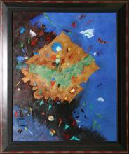 Ben Avram, Abstract Oil Painting