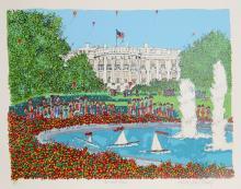 Susan Pear Meisel, The White House, Screenprint