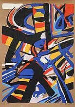 Edo Murtic, untitled 2, Silkscreen