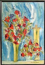 Susan Pear Meisel, Flowers 1, Oil Painting