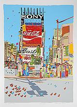 Susan Pear Meisel, Times Square, Screenprint
